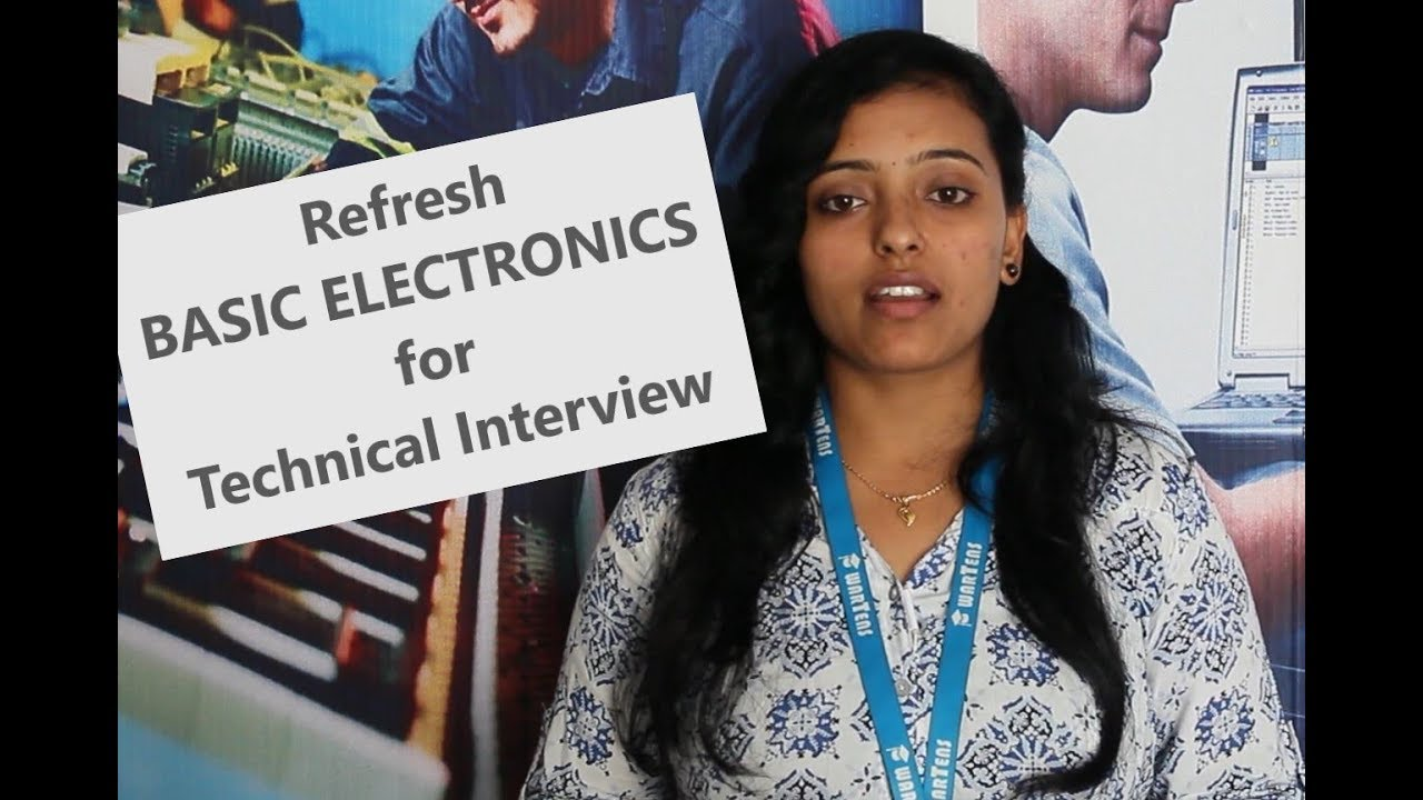 Photo of Basic Electronics introduction for technical interviews
